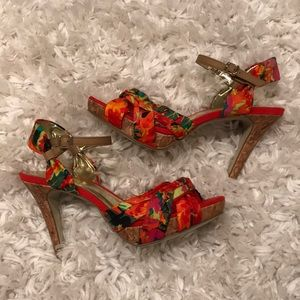 *NEW* Style &Co. Floral Heels